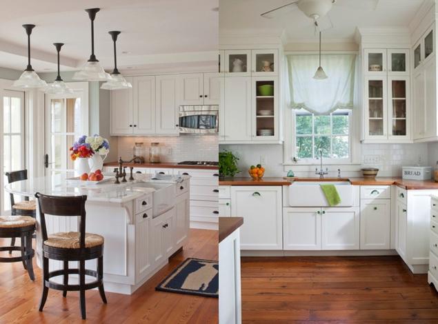 BIAŁA KUCHNIA Z DREWNIANYM BLATEM  POMYSŁY  Shiny Syl blog -> Biala Kuchnia Z Drewnianym Blatem Opinie