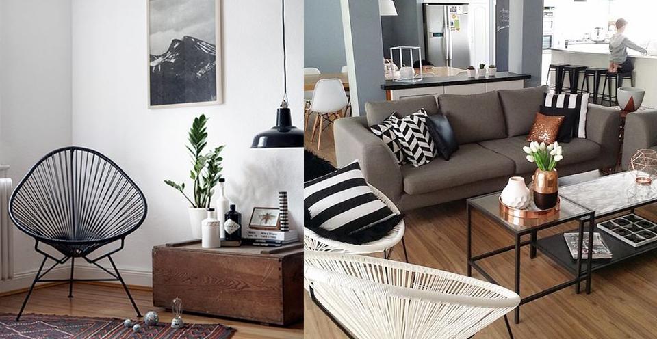 plecione-krzesło-ze-sznurków-w-salonie