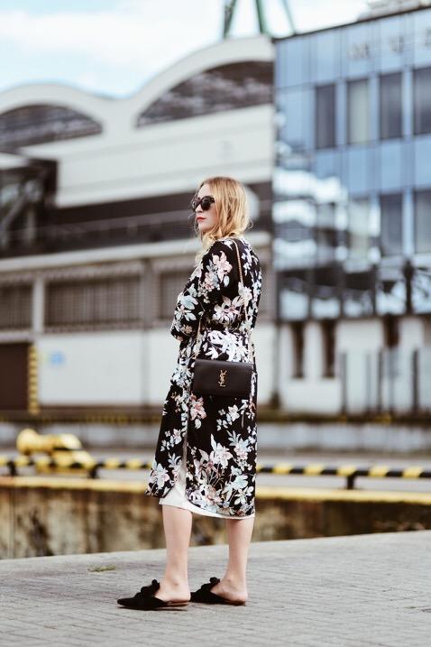 Floral Kimono Street Style Shiny Syl Blog