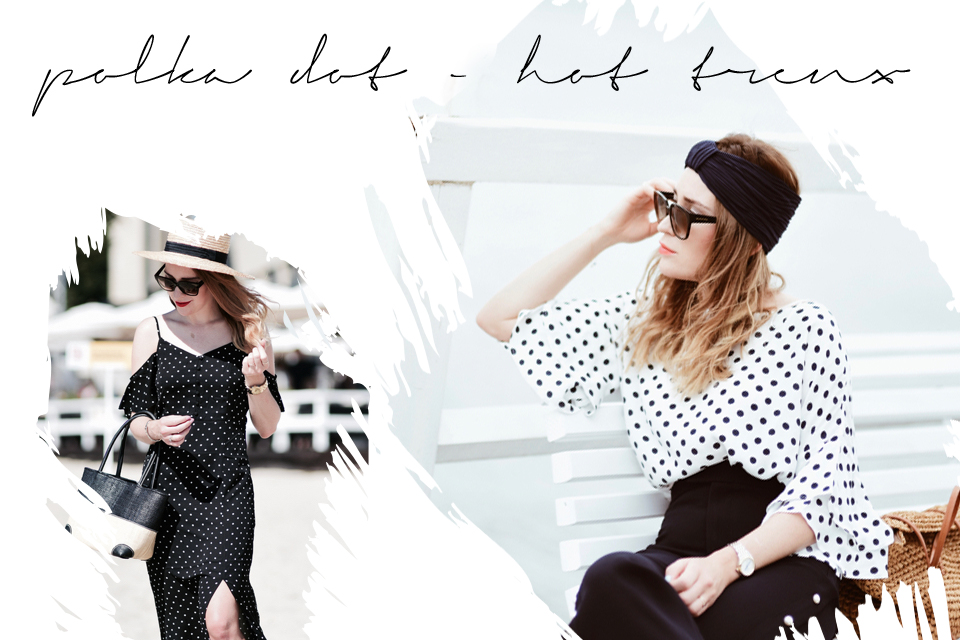 hot trend polka dot outfits