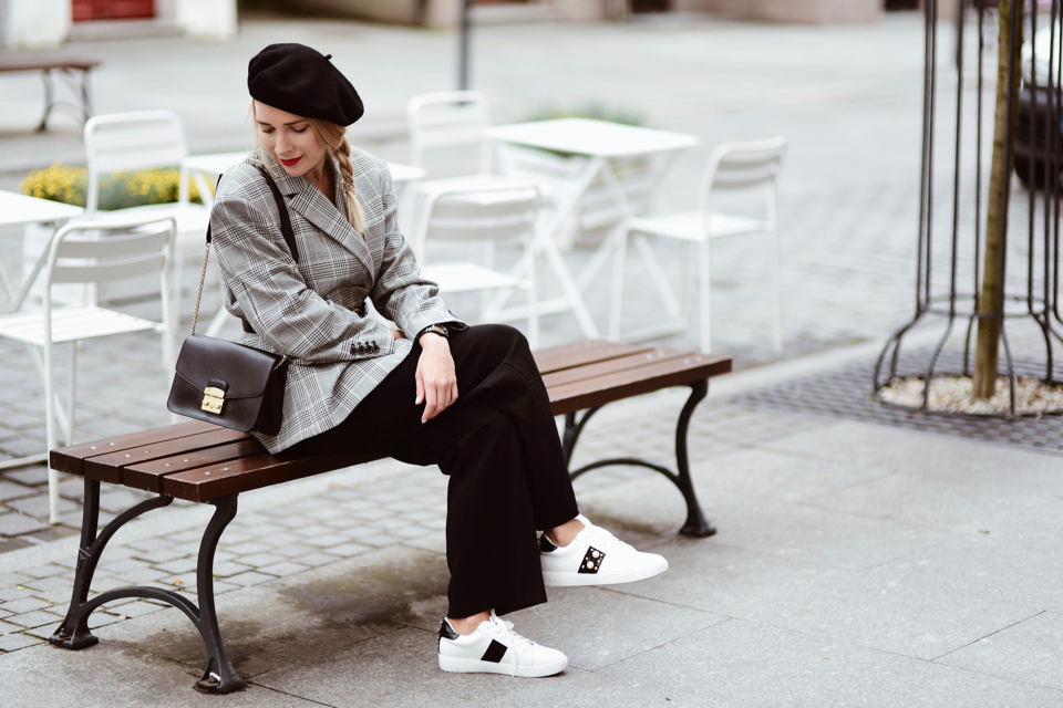 beret street style street fashion outfit