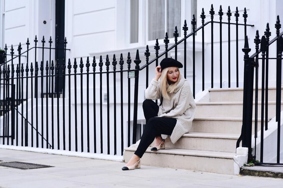długi sweter jak nosić stylizacja