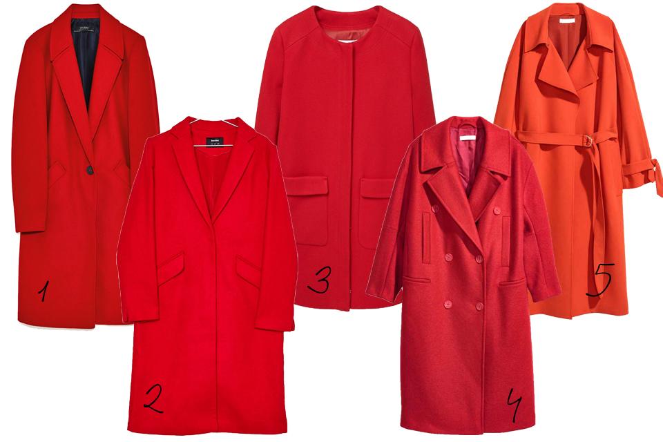 czerwony płaszcz gdzie kupić poradnik zakupowy