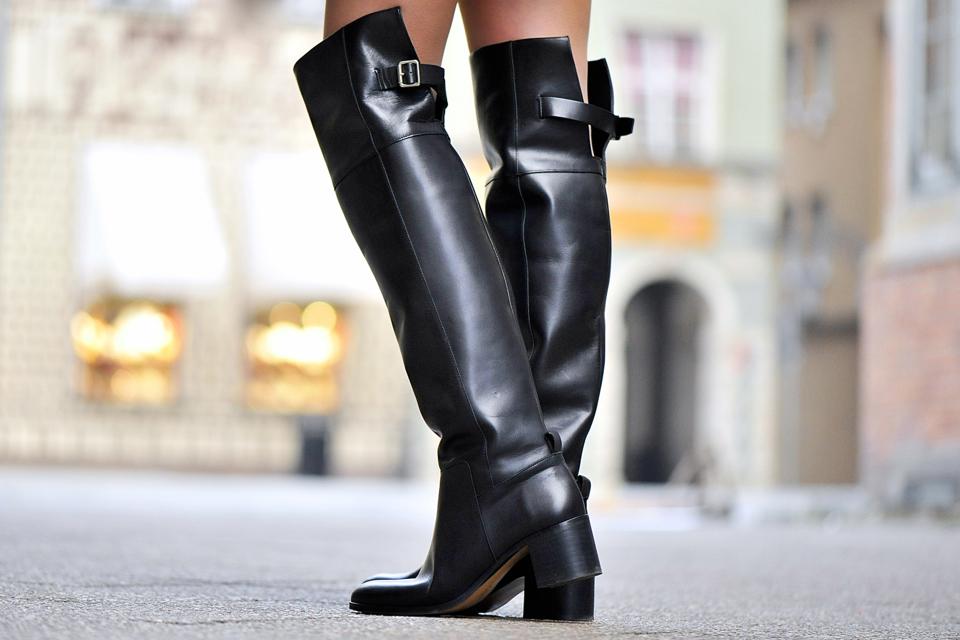 buty za kolano zara