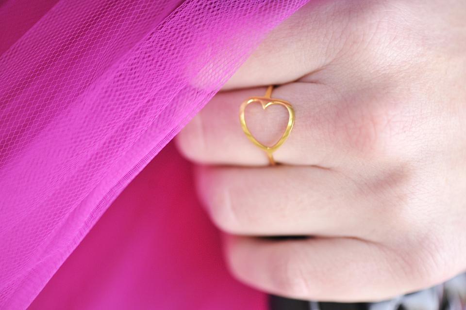 pierścionek-serduszko