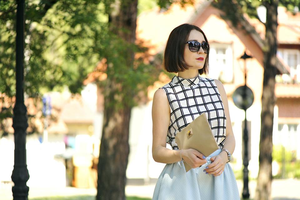 elegancka letnia stylizacja