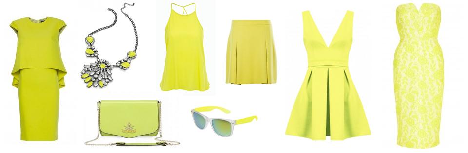 limonkowe ubrania gdzie kupić