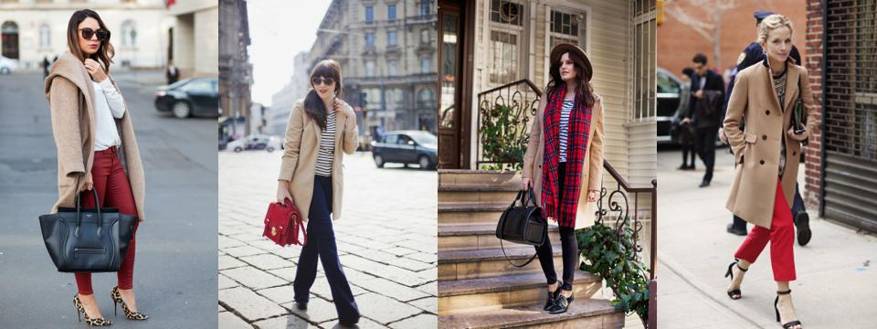 beżowy płaszcz stylizacje