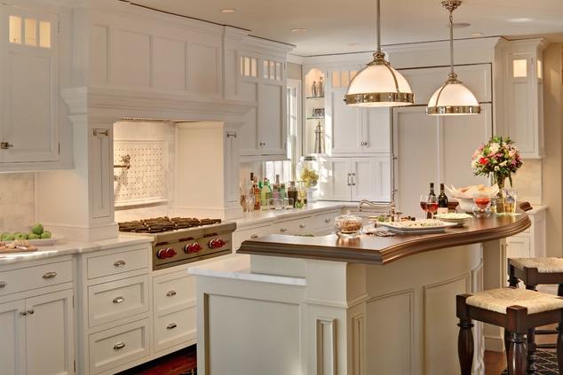 Biała Kuchnia Z Drewnianym Blatem Pomysły Shiny Syl Blog