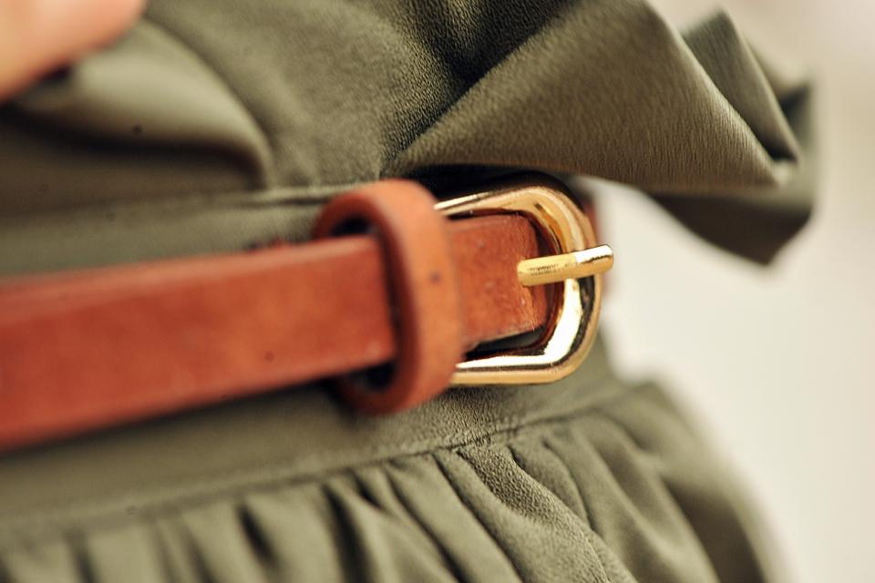 spódnica-khaki