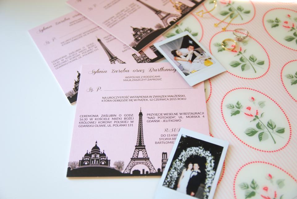 zaproszenia-ślubne-wieża-eiffla