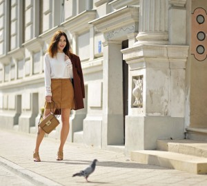 button-front-suede-skirt-street-style-