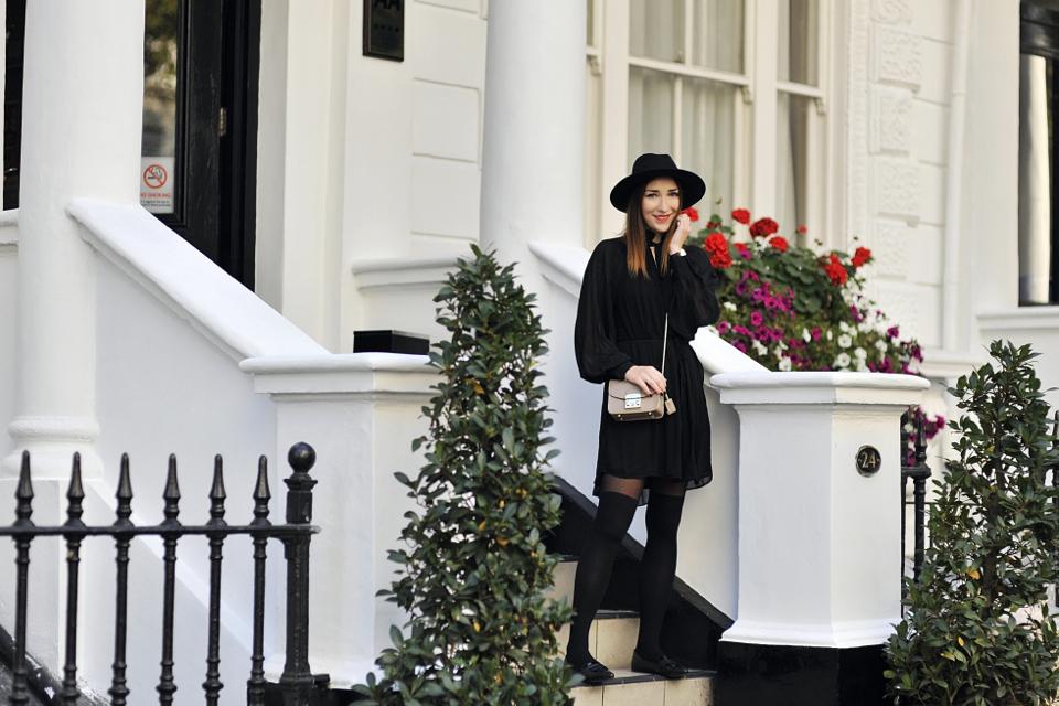black-bohemian-dress-street-style