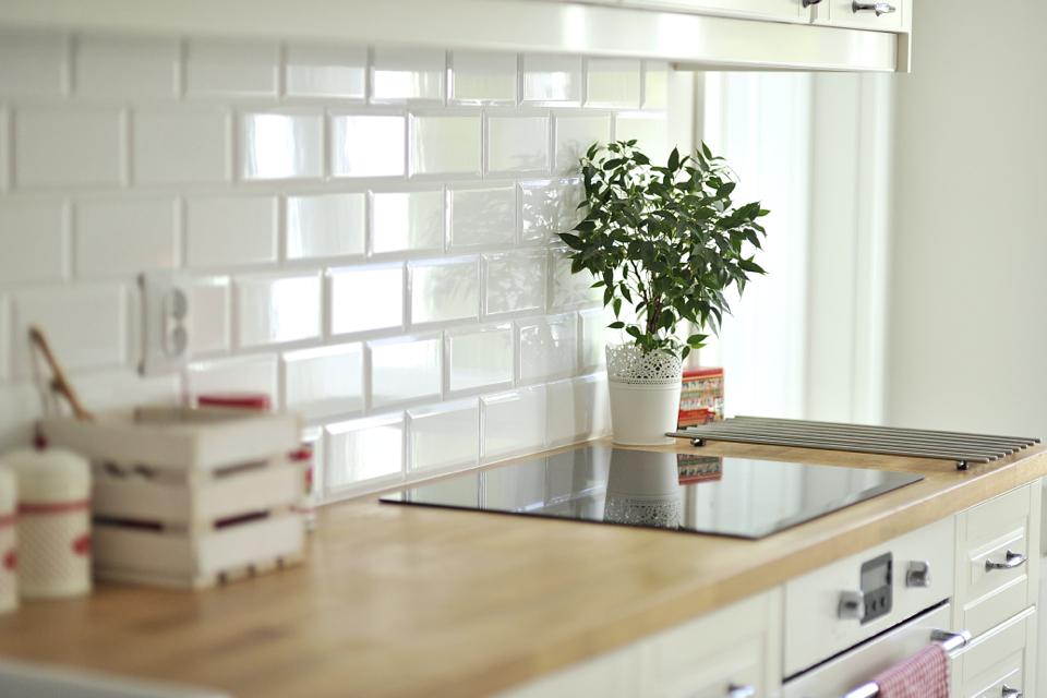 kafelki metro w kuchni shiny syl blog