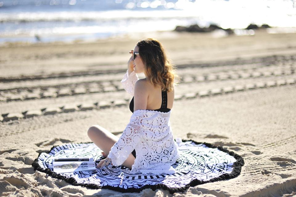 okrągły-ręcznik-plażowy