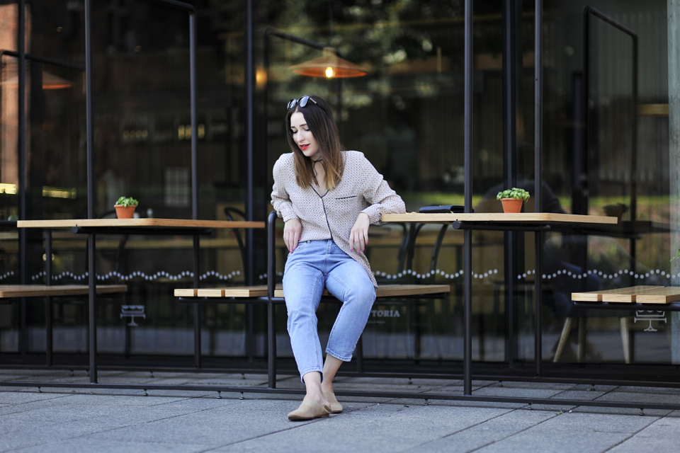 what-to-wear-with-pajama-blouse