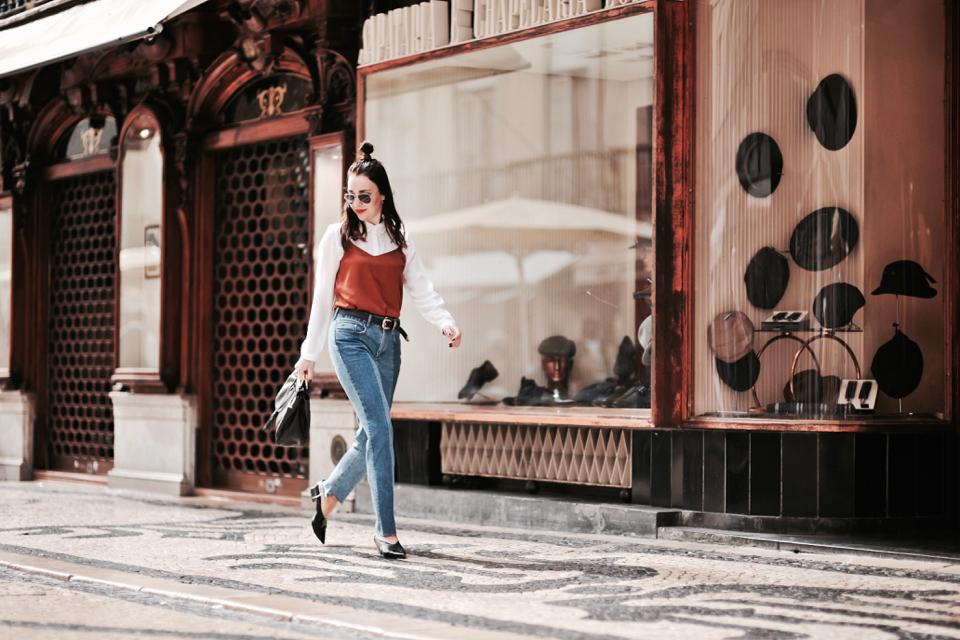 slip-blouse-over-shirt-street-style