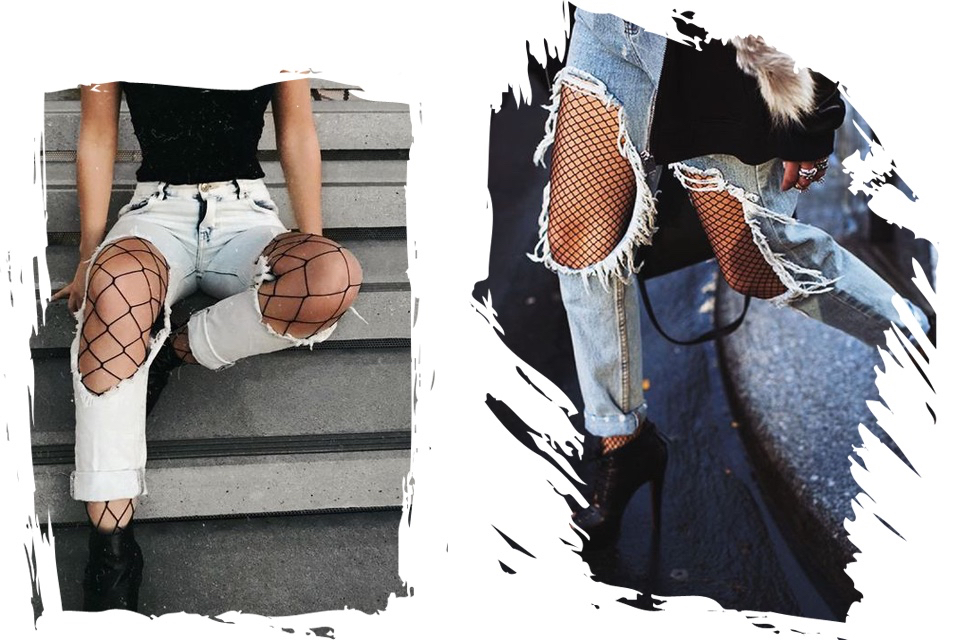 what-to-wear-with-fishnets