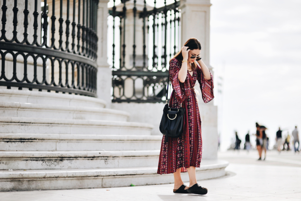 birkenstock-and-dress-street-fashion-outfit