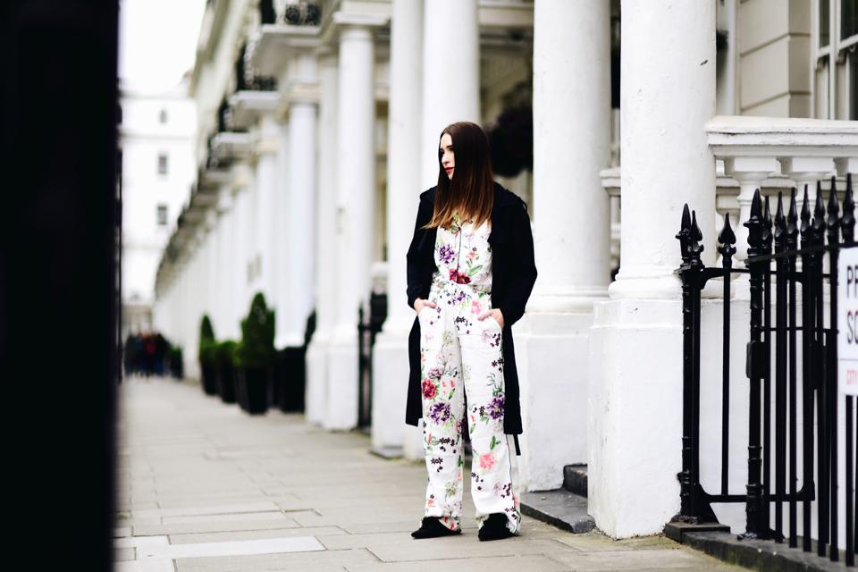 trend piżamowy stylizacja