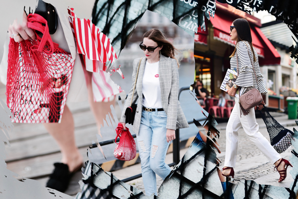 net bag street style outfits