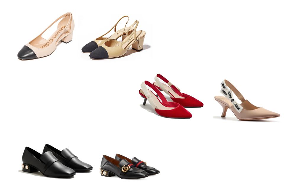 modne buty na jesień 2017 i ich odpowiedniki z sieciówek