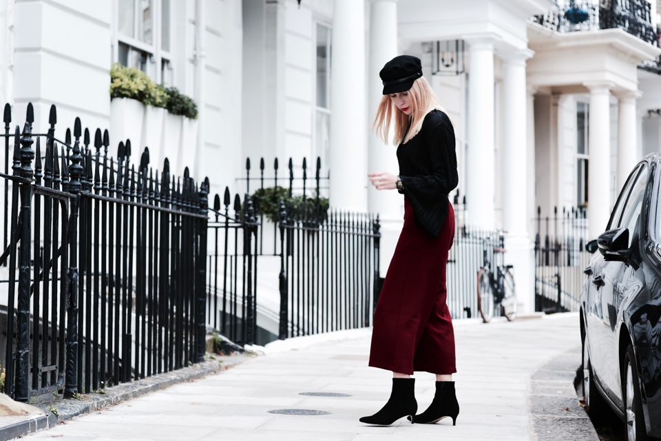 culottes street style outfit
