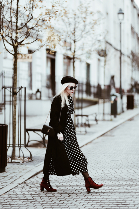 jak nosić sukienki w zimie