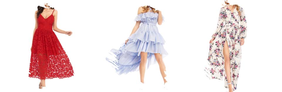 gdzie przez internet kupić ładną sukienkę na wesele na komunię na chrzciny