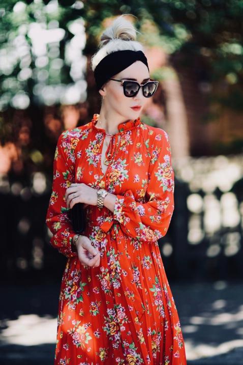 jakie-buty-do-czerwonej-sukienki-stylizacja