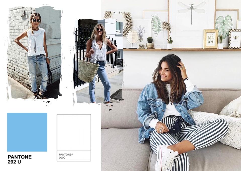 jakie kolory pasują do niebieskiego stylizacje kolor niebieski z czym łączyć z czym nosić poradnik
