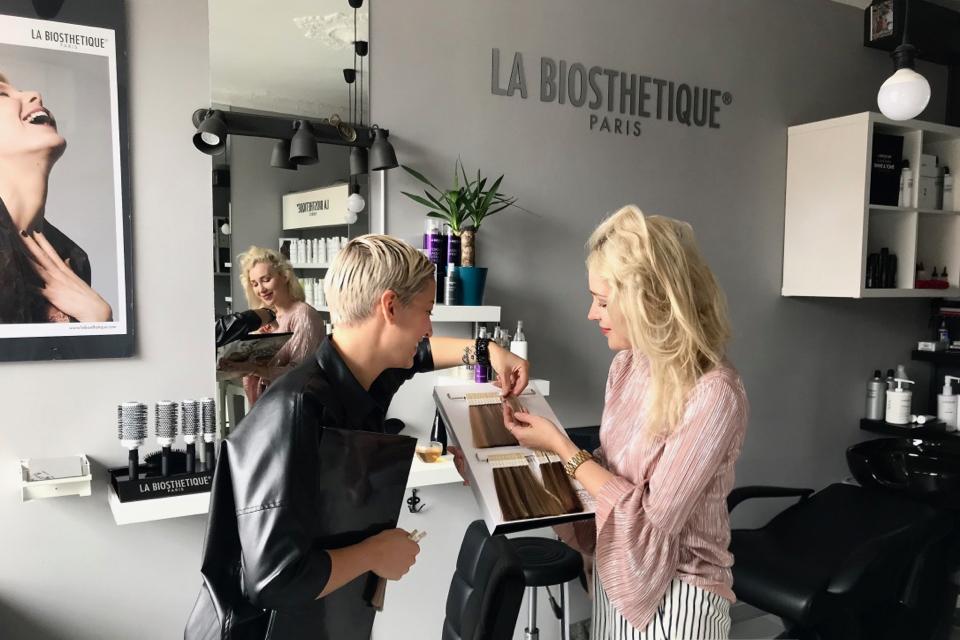 metamorfoza moich włosów salon specjalizujący się w blondach gdańsk dobry fryzjer