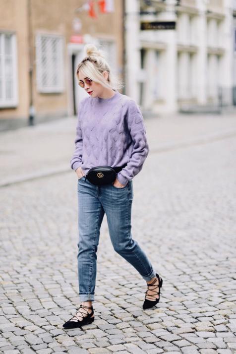 jak-nosić-pastele-jesienią-fioletowy-sweter-kappahl-stylizacja