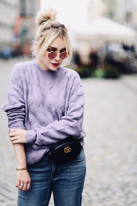 liliowy-fioletowy-sweter-do-czego-nosić-do-czego-pasuje-stylizacja