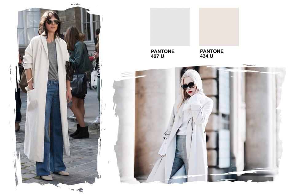 jakie kolory pasują do szarego do czego nosić szare ubrania stylizacje stylizacja