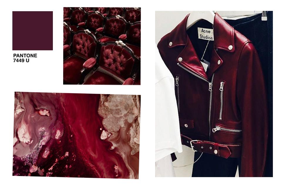 jakie kolory pasują do bordowego bordo burgundu burgundowego burgundowy z czym łączyć z czym nosić jak zestawiać stylizacje